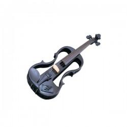 Violin Electrificado CARLO GIORDANO EV202 4 4 Negro