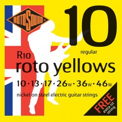 Cuerda Electrica ROTOSOUND R10 Juego