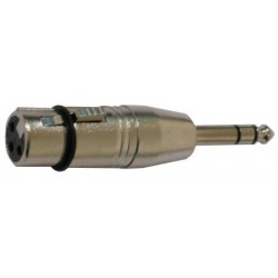 Adaptador XLR Hembra Jack Stereo 1 4
