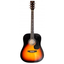 Daytona A 411 Guitarra Acustica Sombreado Brillo