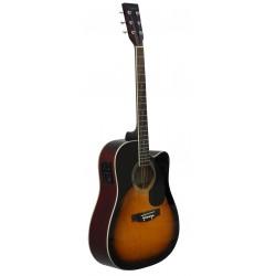 Guitarra Acustica Daytona A 411CE Sombreado