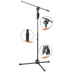 Soporte Micro jirafa EK audio Profesional MS084