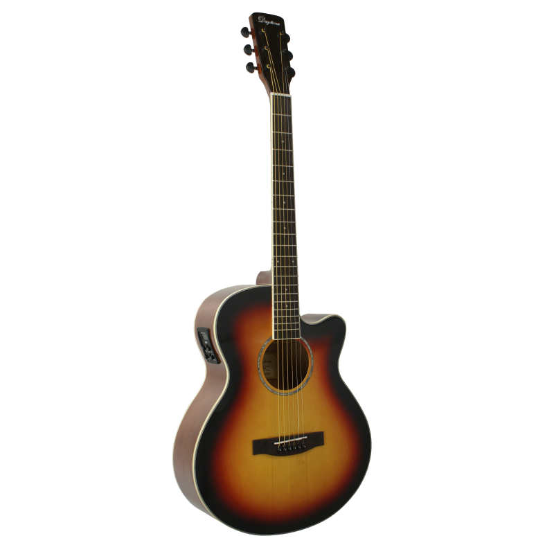 GUITARRA ACuSTICA DAYTONA MINI JUMBO SOMBREADA