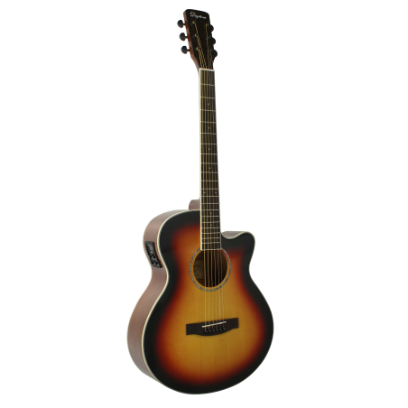 "GUITARRA ACÚSTICA ""DAYTONA"" MINI JUMBO SOMBREADA"